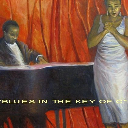 , Blues In The Key Of C, Figurative, $5,426