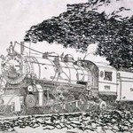 Southern Pacific No 4501 By Robin Richard Emrich