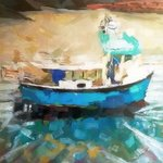 porthgain lobster boat By Ray Burnell