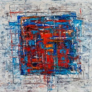 Evgeny Yakovlev Artwork winter, 2017 Oil Painting, Abstract