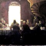 last supper By Gerald Wolfert