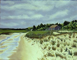 Renee Rutana Artwork Abandon, 2002 Acrylic Painting, Seascape