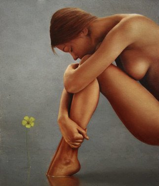 Renso Castaneda Artwork No tittle, 2008 Oil Painting, Nudes