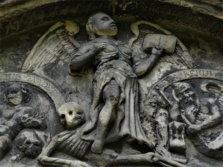 Artist: Robert Reinhardt - Title: Greyfriars Angel - Medium: Color Photograph - Year: 2009