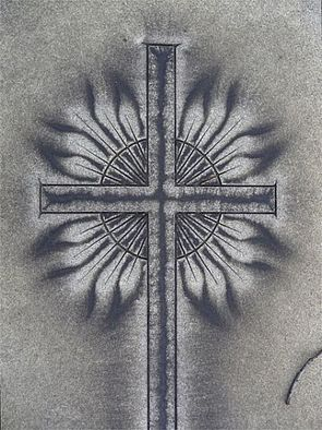 Artist: Robert Reinhardt - Title: Woodlands Cross - Medium: Color Photograph - Year: 2009