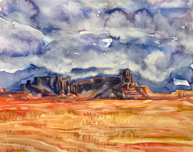 Robert Reinhardt  'Southwest Series', created in 2018, Original Watercolor.