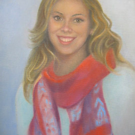 Luisa Cleaves Luisa F. V. Cleaves Gallery: 'Emily Davenport Guerry', 2010 Oil Painting, Figurative. Artist Description:  Oil Portrait commissioned by Susan Herron, Rockport, Ma. ...