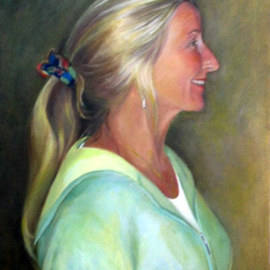 Luisa Cleaves Luisa F. V. Cleaves Gallery: 'Jeanine Burns', 2005 Oil Painting, Figurative.