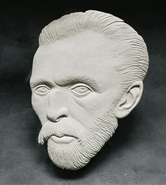 Alexandr And Serge Reznikov  'Van Gogh 6', created in 2020, Original Sculpture Mixed.