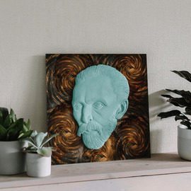 vincent van gogh the eyes By Alexandr And Serge Reznikov