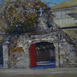 Entrance Arch By Reynaldo Gatmaitan