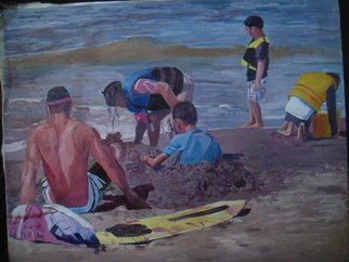 Artist: Reynaldo Gatmaitan - Title: Summer Time - Medium: Oil Painting - Year: 2013
