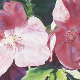 Richard Freer: 'Summer in the park', 2008 Oil Painting, Floral. Artist Description: Limited edition signed high quality Giclee prints on art paper ...
