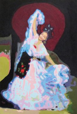 Artist: Rossana Currie - Title: La Bamba - Medium: Oil Painting - Year: 2011