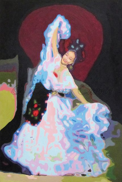 Rossana Currie  'La Bamba', created in 2011, Original Painting Oil.