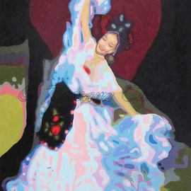 Rossana Currie Artwork La Bamba, 2011 Oil Painting, Dance