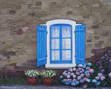 - artwork Realism_Serie__Blue_Window-1345127924.jpg - 2012, Painting Oil, Still Life