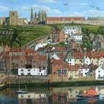 Whitby Harbour North Yorkshire By Richard Harpum