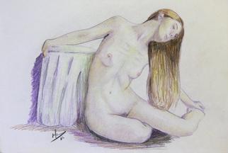 Pencil Drawing by Ricardo Saraiva titled: Nude, 2014