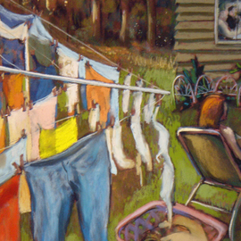 Wash On The Line By Ric Hall And Ron Schmitt