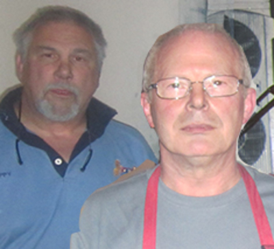 Photograph of Artist RIC HALL AND RON SCHMITT