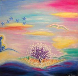 Artist: Rita Canino - Title: per tetto un cielo di stelle - Medium: Oil Painting - Year: 2011