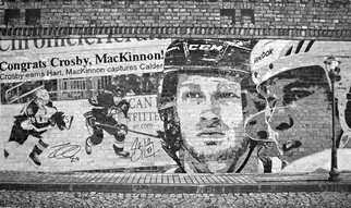 Robb Scott: 'Sidney and MacKinnon Original Drawing', 2014 Pencil Drawing, Sports. Artist Description:  This is an original pencil drawing created by Robb Scott. It is autographed by Sidney Crosby, Nathan MacKinnon and Robb Scott. It comes with a certificate of authenticity from Framewroth Sports Marketing. The size of the drawing is 20