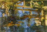 Artist: Robert Nizamov, title: Bridge, 2009, Painting Oil