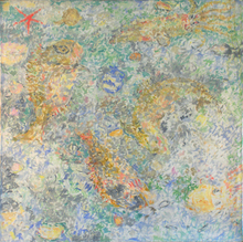 - artwork Fishes-1266665190.jpg - 1998, Painting Oil, Still Life