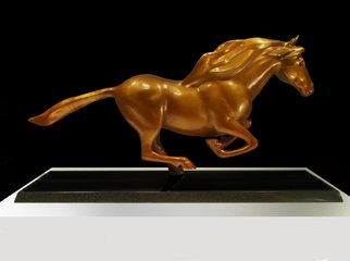 Robert Kelly Artwork Runaway, 2015 Bronze Sculpture, Horses