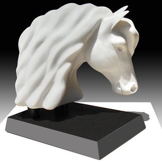 Robert Kelly: 'arion', 2016 Other Sculpture, Horses. Artist Description: Limited edition   1 15  Hand cast marble...