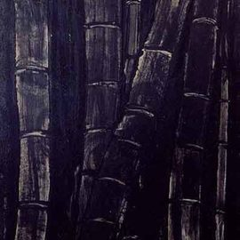 bamboos in black By Roberto Rossi