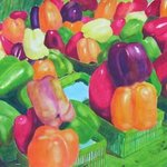 Market Peppers By Robert P. Hedden