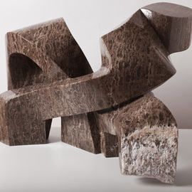 Robin Antar Artwork 2 figures, 2012 Stone Sculpture, Abstract Figurative