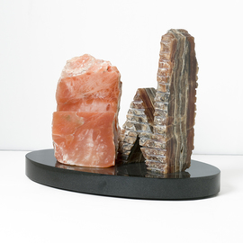 Robin Antar: 'conversations 2', 2009 Stone Sculpture, Abstract Figurative. Artist Description: conversations, onyx, alabaster, figures, talking...
