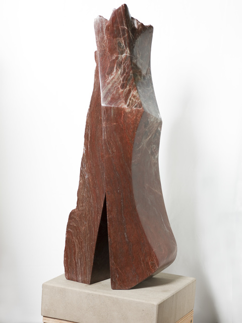 Robin Antar  'Him And Her', created in 2009, Original Sculpture Limestone.