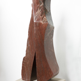 Robin Antar: 'him and her', 2009 Stone Sculpture, Abstract Figurative. Artist Description: carved out of a rare piece of alabaster, figures, male, female, relationships...