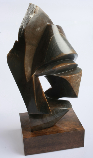 Robin Antar  'Moving On', created in 2009, Original Sculpture Limestone.