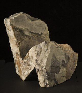 Robin Antar Artwork the thinker 2, 2010 Stone Sculpture, Abstract Figurative