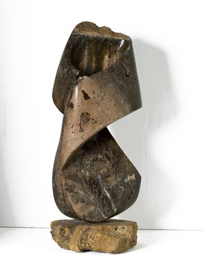 Robin Antar: 'twisted up', 2009 Marble Sculpture, Abstract. carved out of marble, twisted, energy, life, stone...