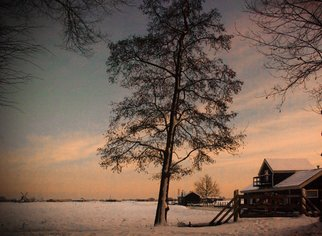 Rob Kuijper Artwork Winter in Warmond, 2010 Other Photography, Landscape