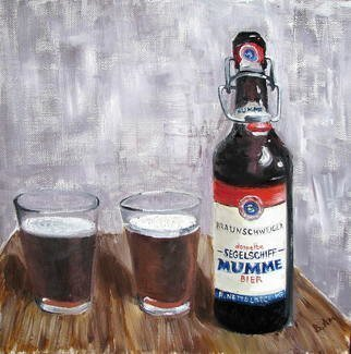 Vadim Amelichev Artwork mumme bier, 2015 Oil Painting, Still Life