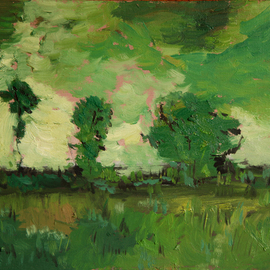 Landscape in green