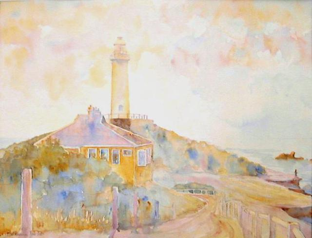 Roderick Brown  'Bathurst Lighthouse', created in 2003, Original Watercolor.
