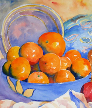 - artwork Oranges_in_Blue_Bowl-1242529872.jpg - 2004, Watercolor, Still Life