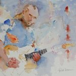 Rockin Guitar By Roderick Brown