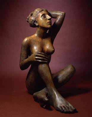 Bronze Sculpture by Mavis Mcclure titled: Naima, created in 2004