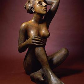 Mavis Mcclure Artwork Naima, 2004 Bronze Sculpture, Figurative