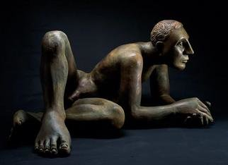 Bronze Sculpture by Mavis Mcclure titled: Nilo, created in 2001