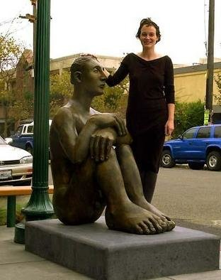 Bronze Sculpture by Mavis Mcclure titled: Pablo, created in 1999
